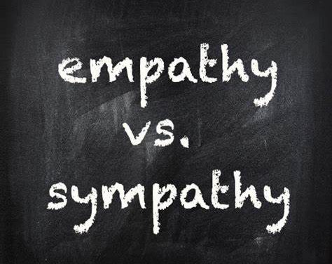 What is the difference between Empathy and Sympathy?